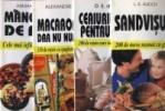 Pachet promotional 4 carti - Mancaruri de post-150 de retete ieftine, Macaroanele, dar nu numai ele!-150 de retete, Ceaiurile mele pentru oase-200 de retete, Sandvisuri-200 de retete de gustari