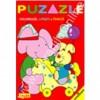 Puzzle - Coloreaza, lipeste si invata. Triunghiul