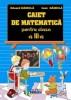 Caiet de matematica - pentru cls. a III-a
