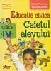 Educatie civica - caietul elevului clasa a IV a